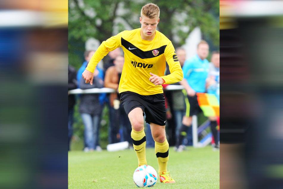 Sebastian Mai als Jungspund in der U19 von Dynamo.