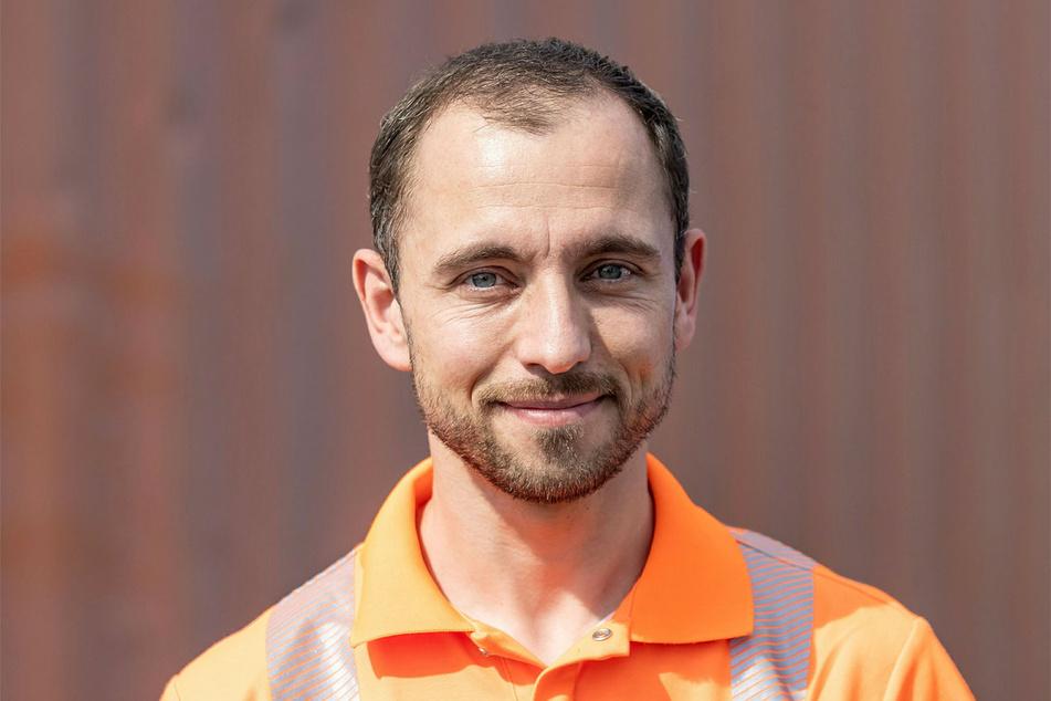 Bittet für die Bauarbeiten um Verständnis: Tino Möhring, Sprecher der Autobahn GmbH Ost.