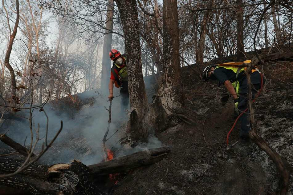 Water levels shrink and wildfires burn as severe drought hits Mexico