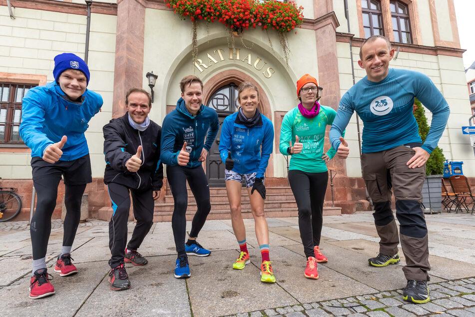 Chemnitzer Sportler strampeln für Kulturhauptstadt 2025