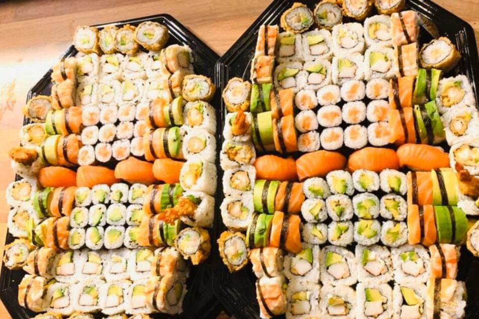 100 Sushi auf einen Schlag? Dann haben wir einen genialen Tipp für Euch!