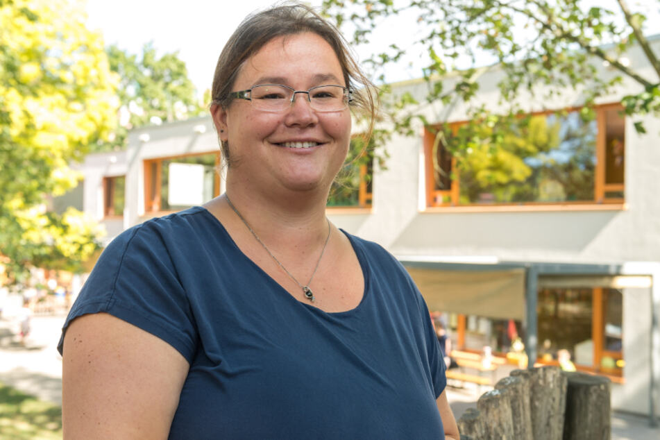 "Nora Engert ist Co-Chefin im ""Prohliser Spatzennest""."