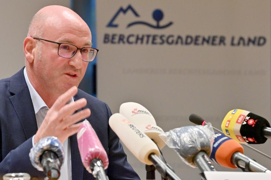 Bernhard Kern (CSU), Landrat des Landkreises Berchtesgadener Land.