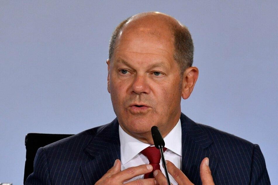 Bundesfinanzminister Olaf Scholz (62, SPD) ist weiterhin unter Beschuss der Opposition. (Archiv)