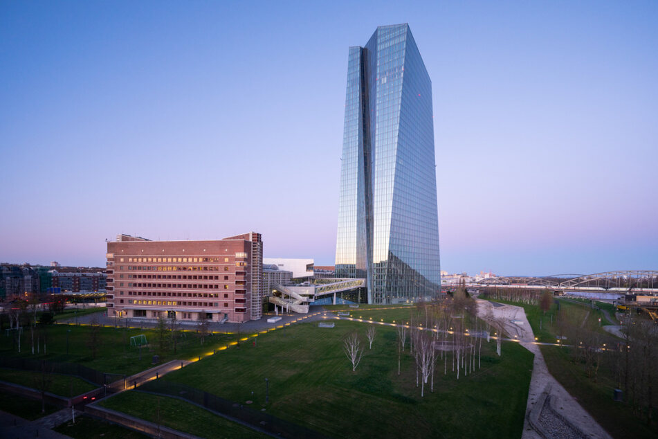 Die Europäische Zentralbank (EZB) in Frankfurt/Main.