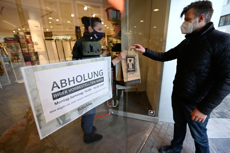 Trotz Notbremse: Abholung im Einzelhandel soll erlaubt bleiben