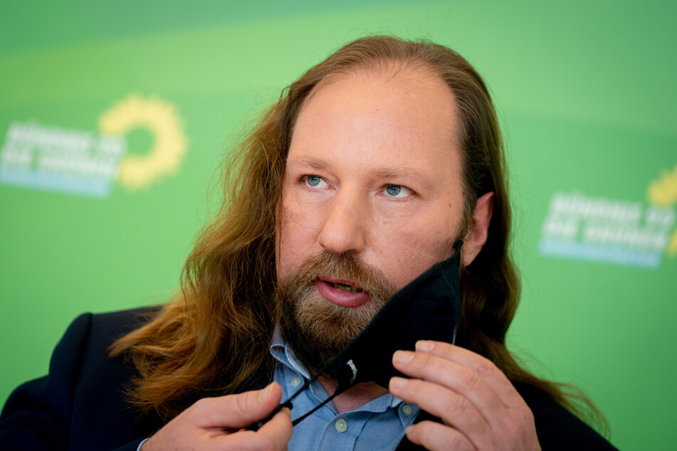 Grünen-Politiker Anton Hofreiter (51) werden die erfundenen Zeilen fälschlicherweise in den Mund gelegt. (Symbolbild)
