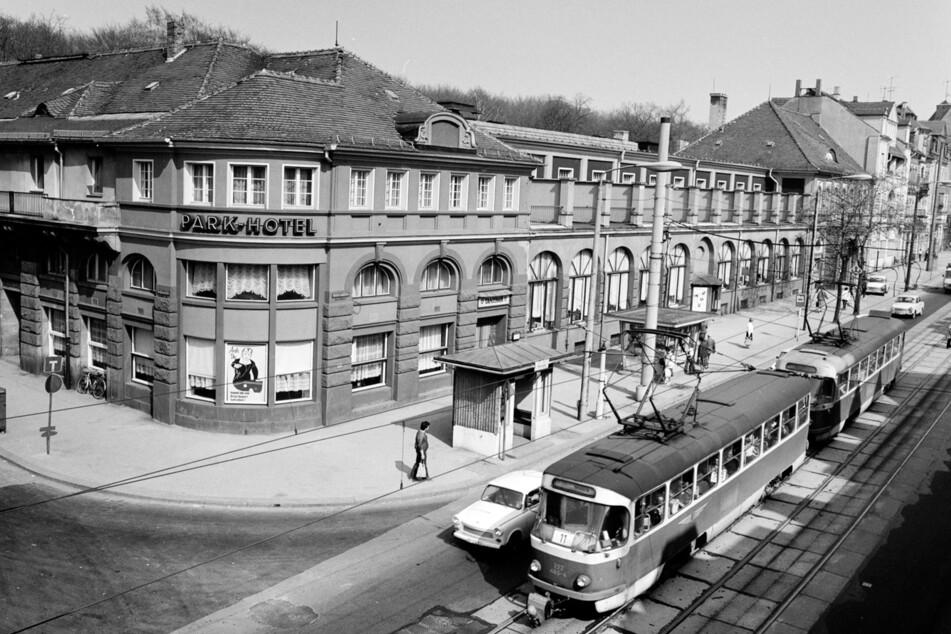 Das Parkhotel zu DDR-Zeiten.