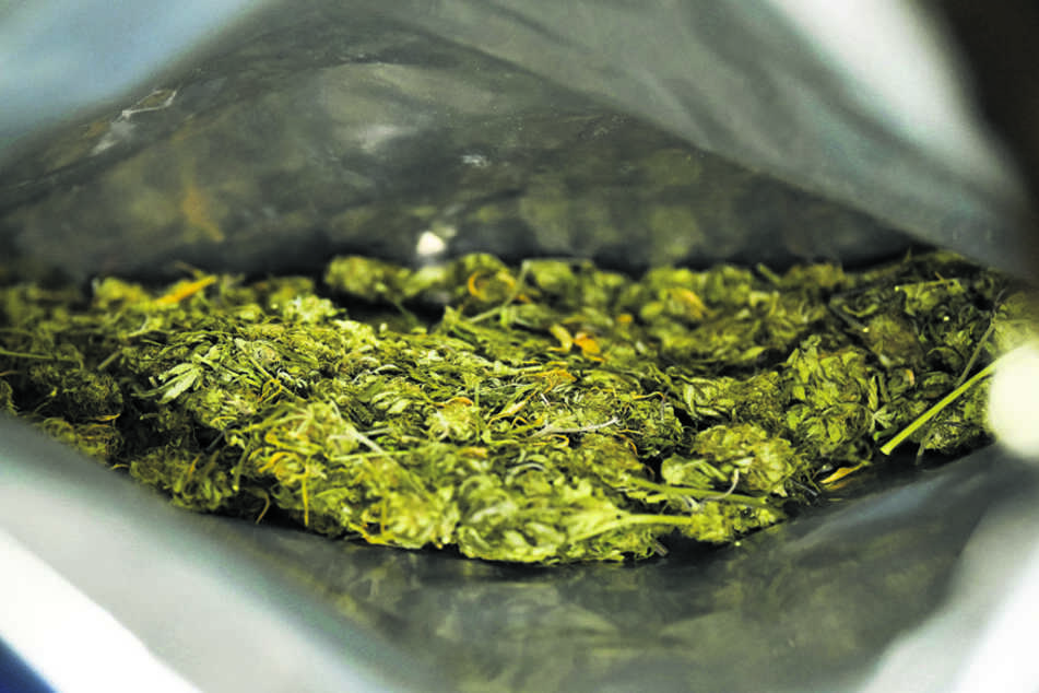 Gleich 14 Kilo Marihuana sollte der Barkeeper in zwei Paketen entgegennehmen. (Symbolbild)