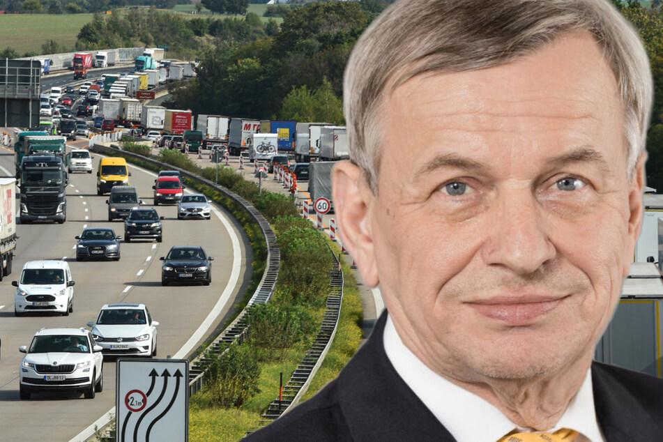 Dresden: Baustellen, Ferien, Transit! ADAC warnt: Sachsen ist Deutschlands Staufalle Nummer eins