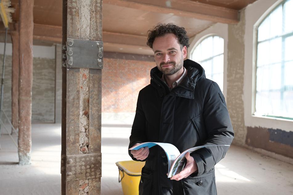 Makler Sören Metzger (43) betreut das Objekt.