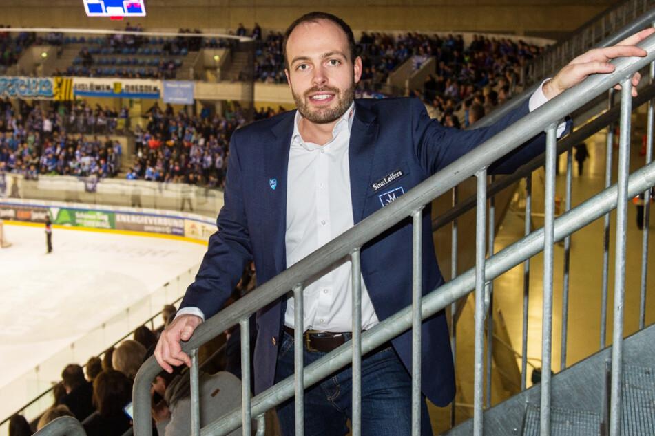 Eislöwen-Geschäftsführer Maik Walsdorf hat weiter das große Ziel DEL im Visier.