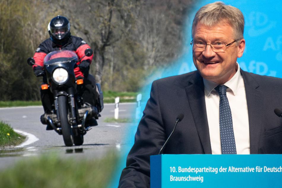 Sonntags-Fahrverbot für Motorräder?! AfD-Meuthen grätscht dazwischen