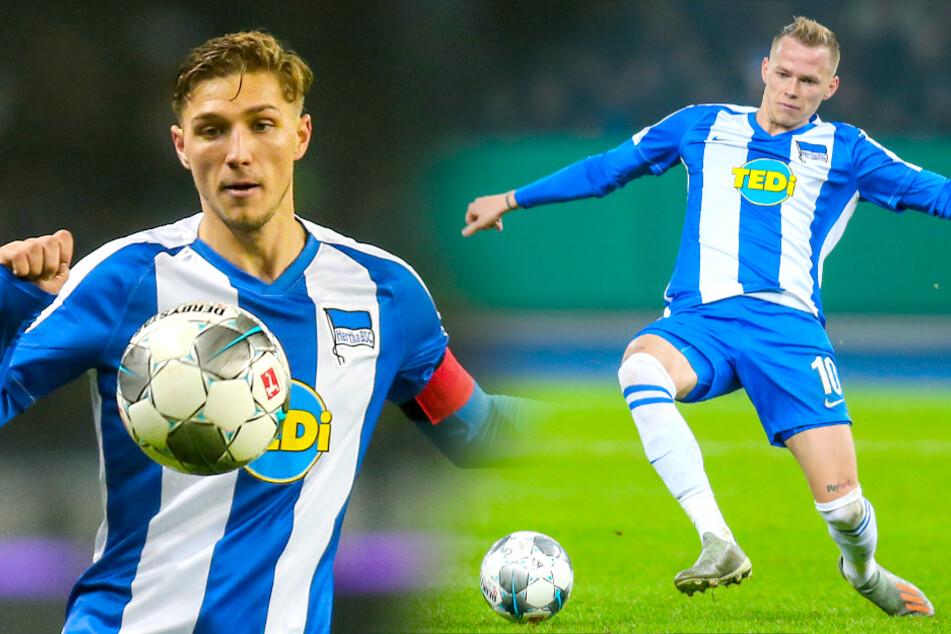 Am Donnerstag stiegen auch Niklas Stark (l.) und Ondrej Duda ins Training ein.