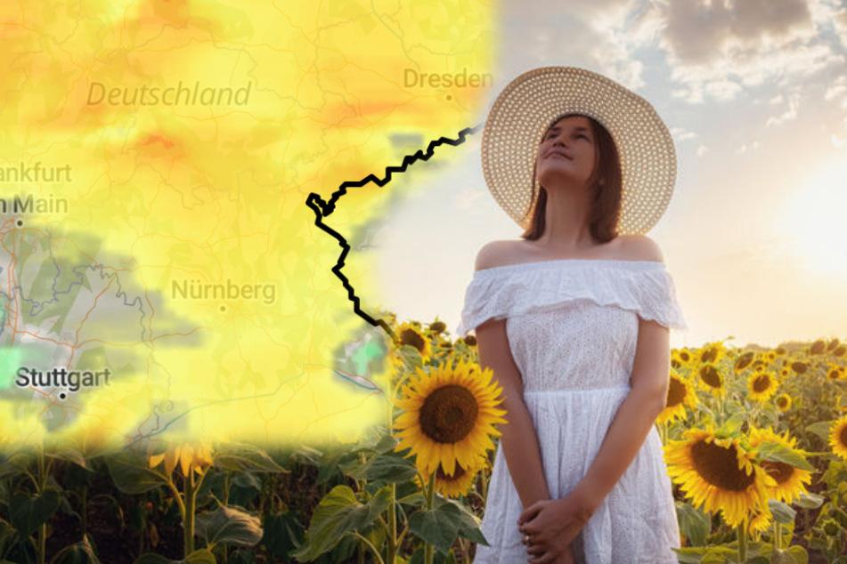 Über 25 Grad! So wird das Wetter am Wochenende in Deutschland