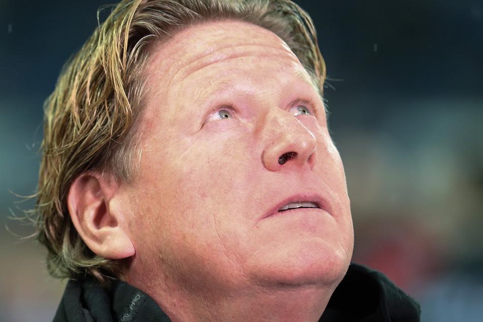 Kölns Trainer Markus Gisdol kann in der Bundesliga-Tabelle noch ein paar Plätze nach oben rücken, so gut wie es momentan für den 1. FC Köln läuft.