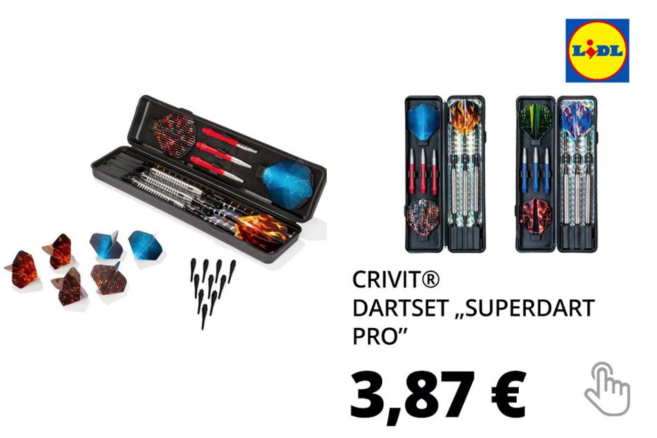 "CRIVIT® Dartset ""Superdart Pro"""
