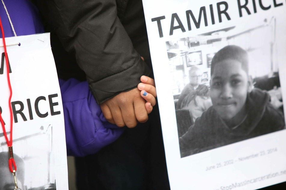 The killing of Tamir Rice, along with other police shootings of Black men, sparked protests nationwide.