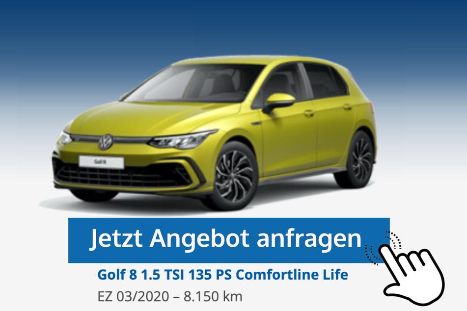 Golf 8 (1.5 TSI 135 PS Comfortline Life) für 22.890 Euro bzw. 219 Euro/Monat*