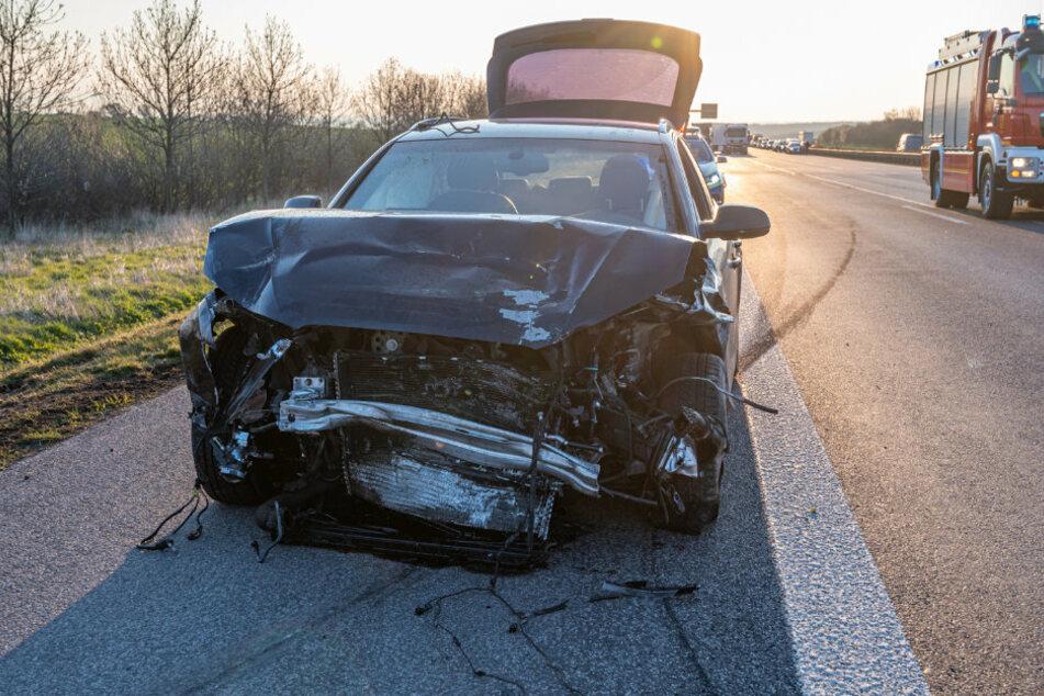 Der 35-jährige Fahrer des Audis wurde leicht verletzt.