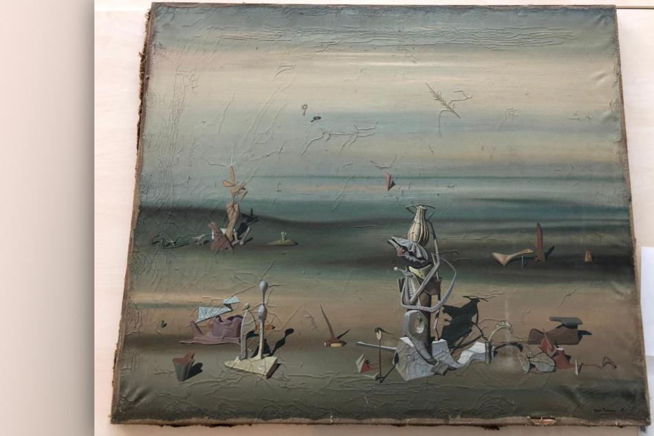 Unfassbar: Gemälde für 280.000 Euro aus Müllcontainer gerettet!