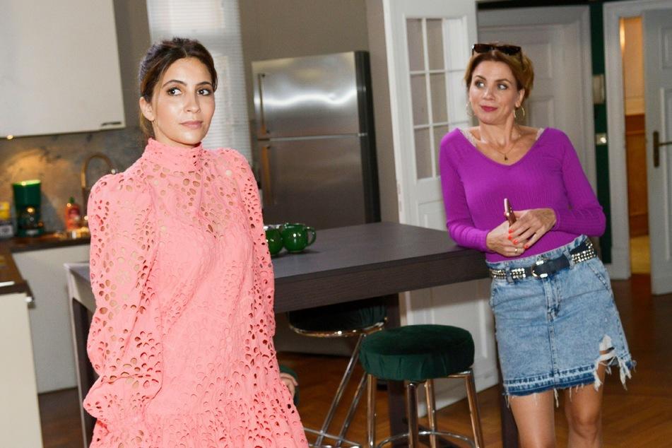 Nach was will Laura in Gerners Wohnung suchen?