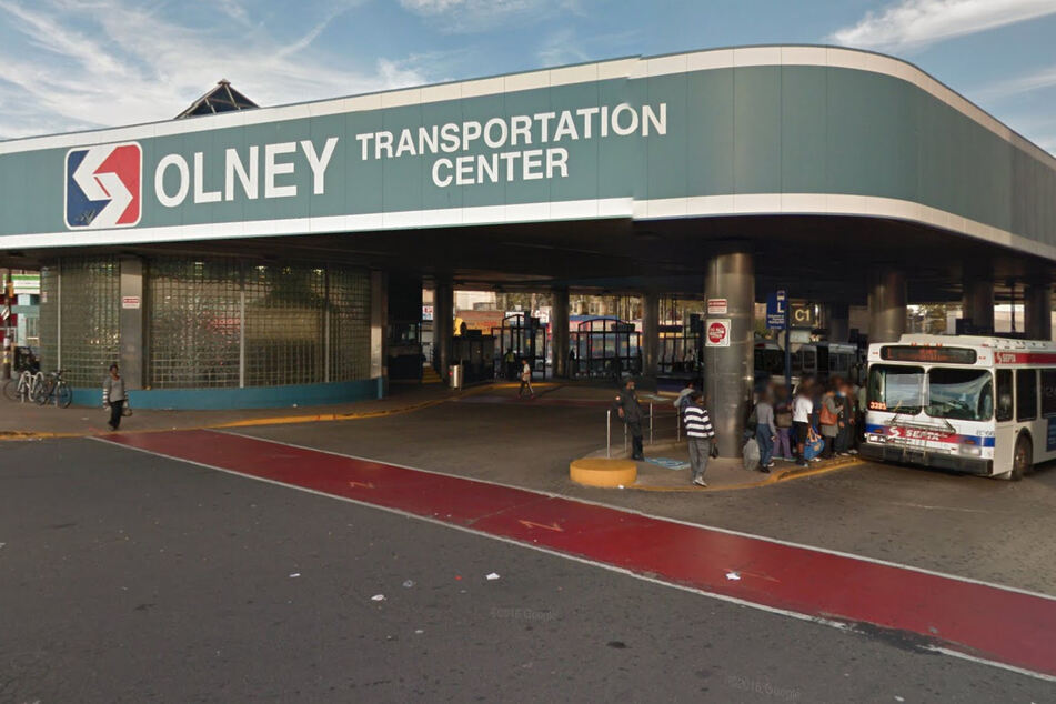 Gunfire erupted at the Olney Transportation Center on Wednesday.