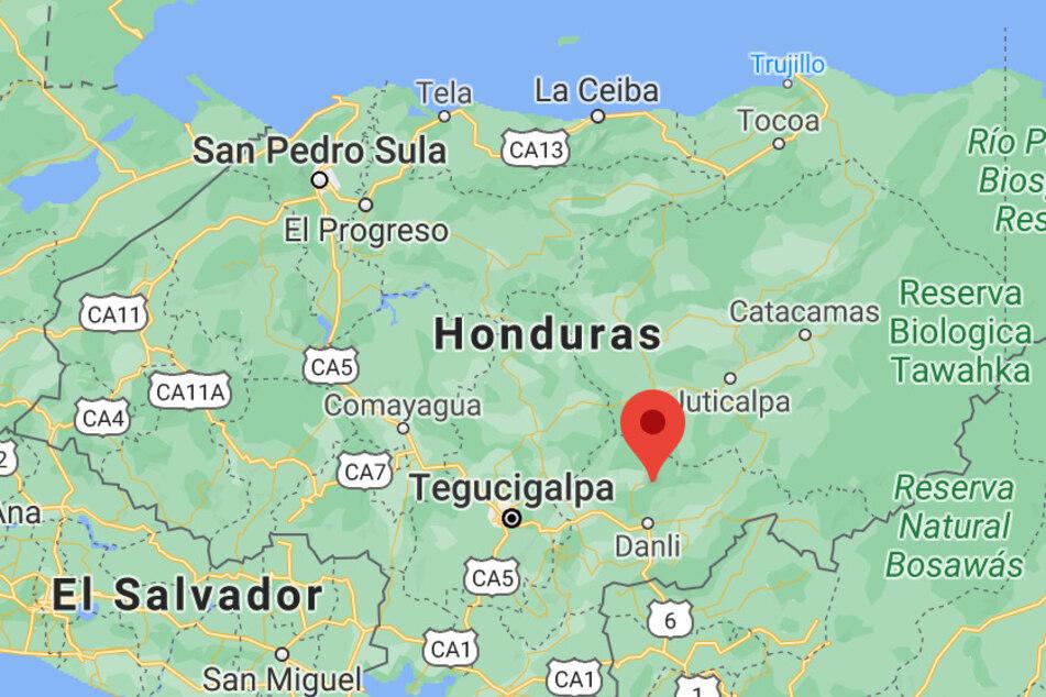 Felix Vasquez was killed in the village El Ocotal, central Honduras.