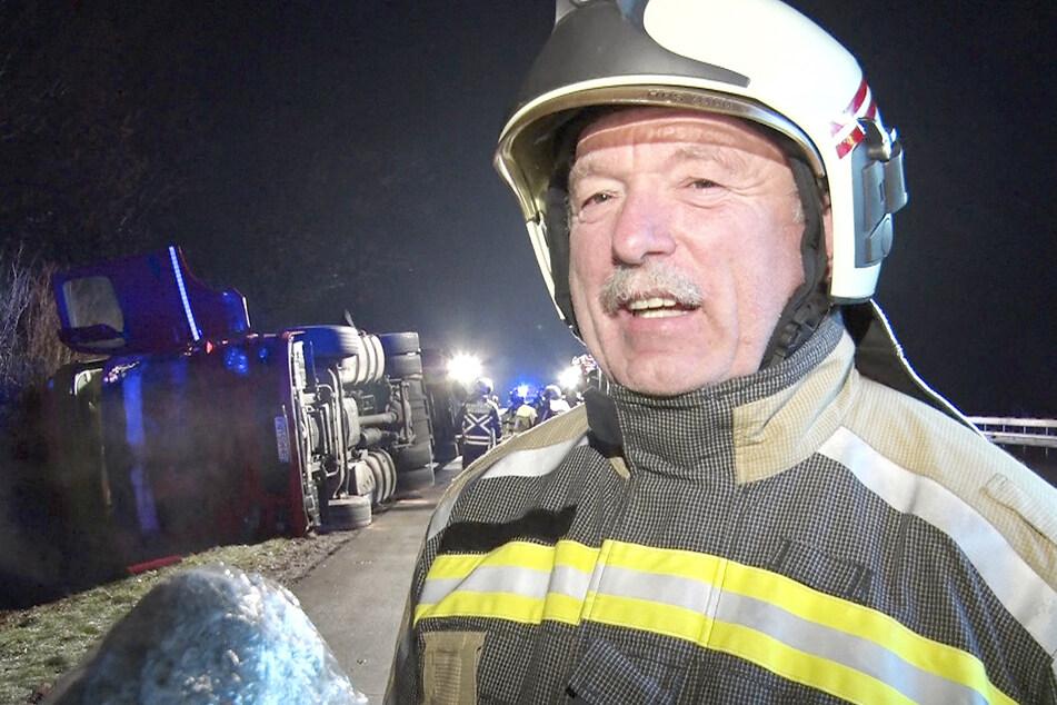 Nach A4-Unfall: Erste Corona-Tests negativ, doch Feuerwehrleute bleiben in Quarantäne