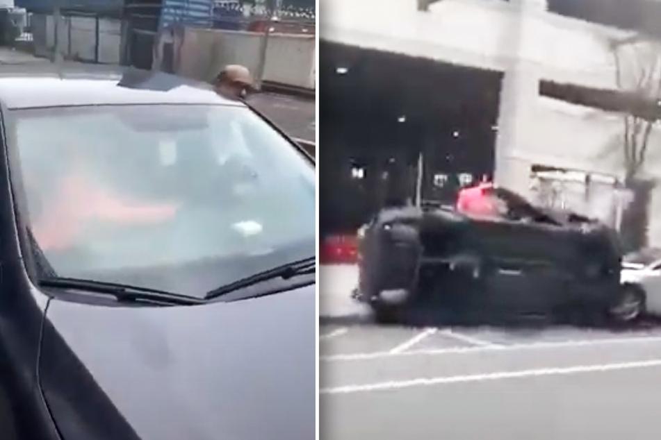 Jugendliche Mädels (13, 15) klauen Auto und töten Fahrer bei heftigem Unfall