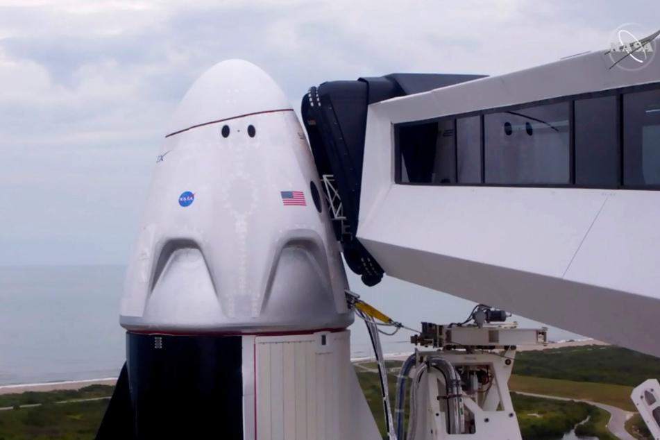 Raketenstart abgesagt! Bemannter SpaceX-Flug zur ISS verschoben