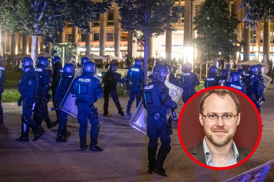 Meine Meinung zur Krawall-Nacht von Stuttgart: Die Polizei ist kein Freiwild!