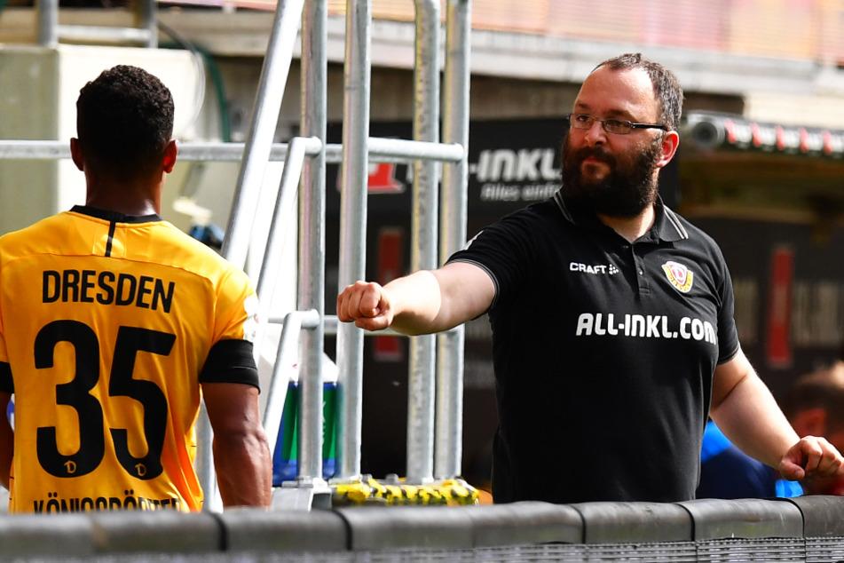 Martin Börner (r.) war acht Jahre lang Teammanager bei den Schwarz-Gelben.