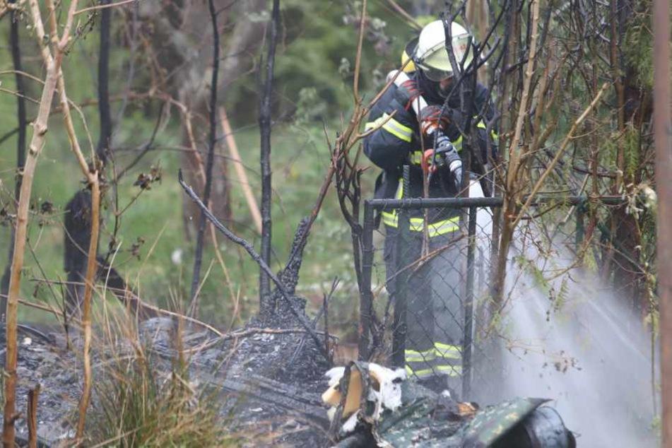 Hamburg: Erneuter Brand in Kleingartenanlage: Hat der Feuerteufel wieder zugeschlagen?