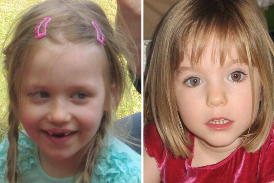"""Inga G. (l.) und Madeleine """"Maddie"""" McCann sind seit fünf beziehungsweise 13 Jahren spurlos verschwunden."""