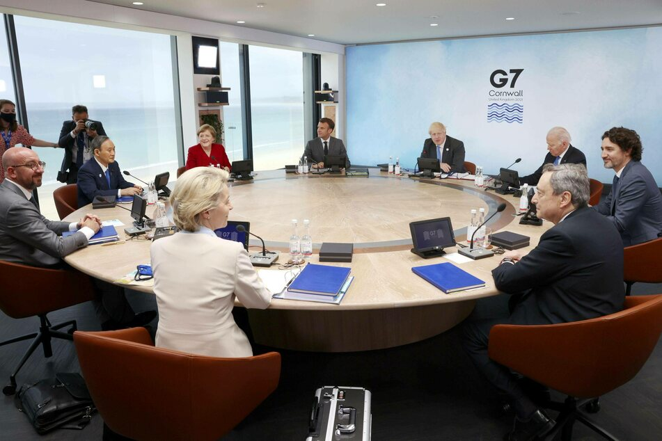 Several world leaders met during a three-day G7 summit in Cornwall, UK.