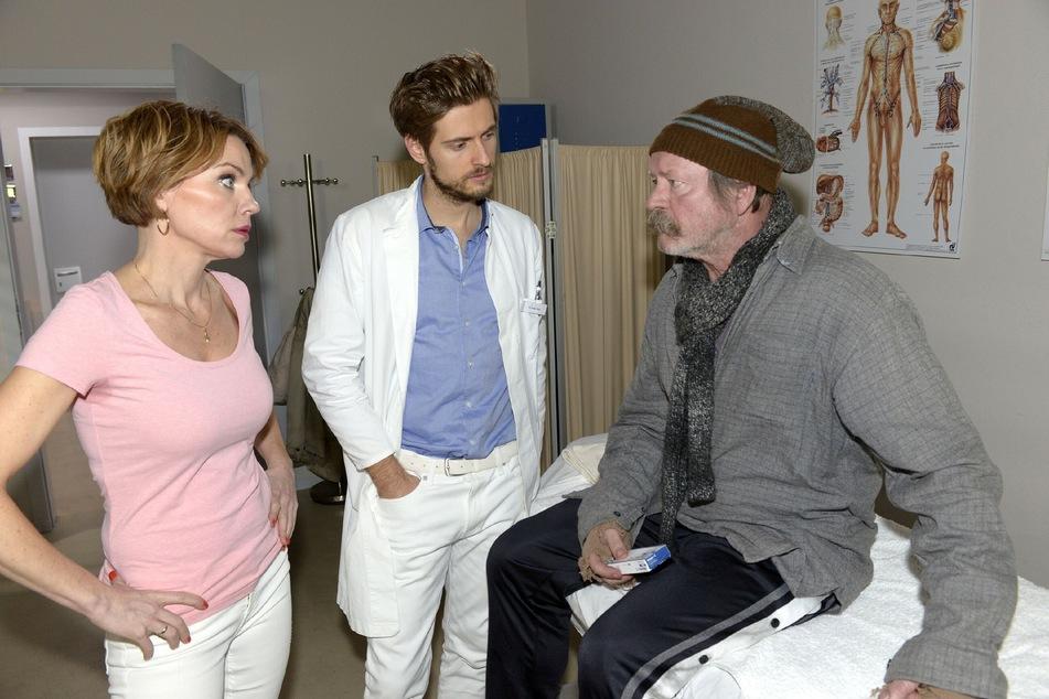 Ausgerechnet der Obdachlose Norbert (Michael Siebert) wird dabei schwer verletzt.