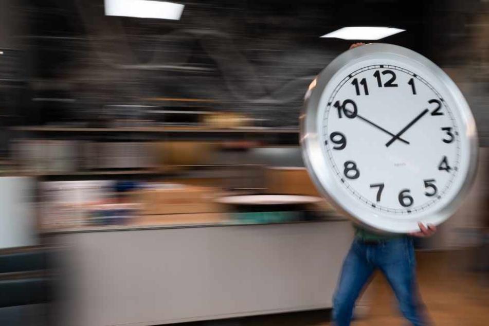 Na, habt Ihr schon die Uhr vorgestellt?