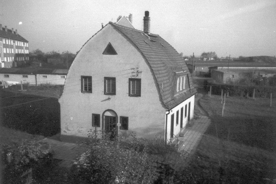 """So sah das """"Waschhaus"""" in Ebersdorf in den späten 1970ern aus."""