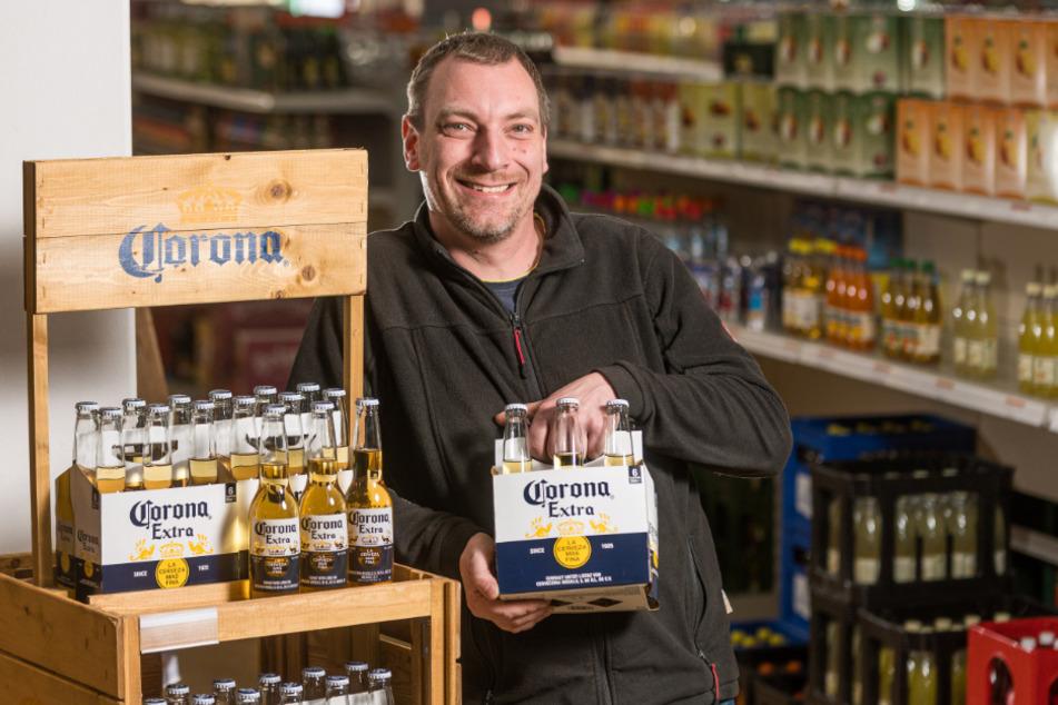 Corona Bier Absatz