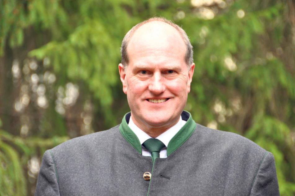 Landesforstpräsident Utz Hempfling (57).