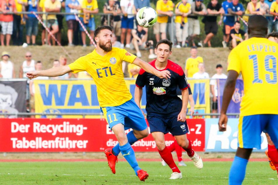 Tom Nattermann (l.) soll bei Lok nach einem äußerst durchwachsenen Jahr beim SV Babelsberg 03 wieder zur Form der Saison 2018/19 finden, als er 18 Mal traf.