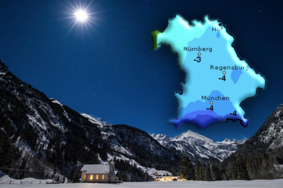 Eisige Aussichten: So wird das Wetter in Bayern