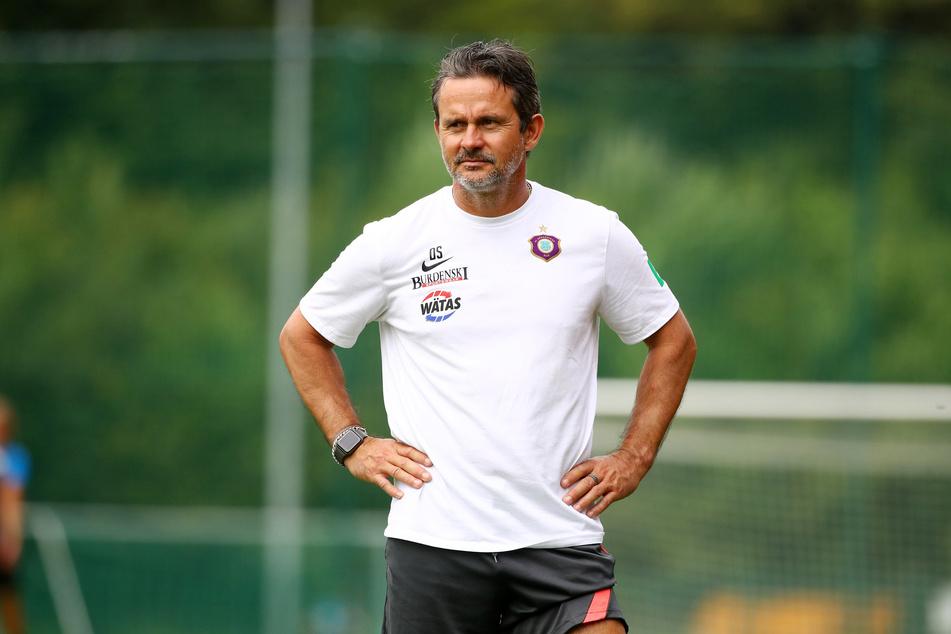 FCE-Trainer Dirk Schuster hält Ognjen Gnjatic für einen robusten Typ.