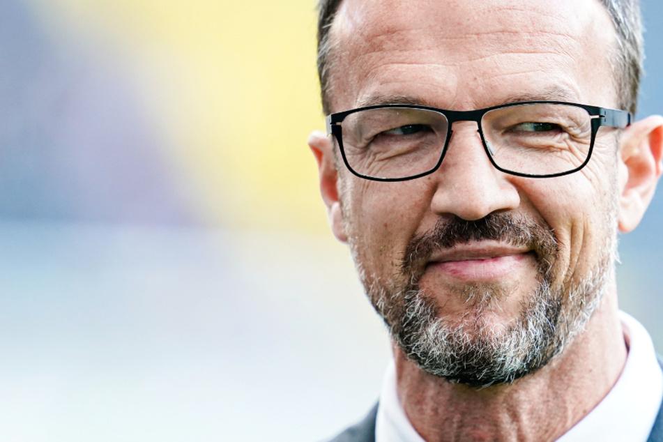 Das Foto aus dem September 2019 zeigt Fredi Bobic (49), den Sportvorstand von Eintracht Frankfurt.