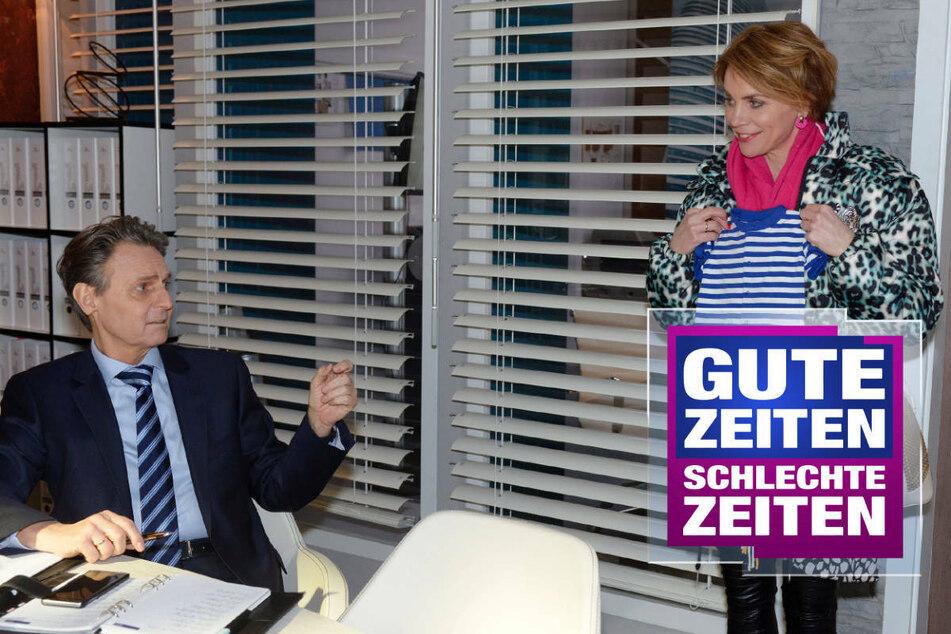 GZSZ: GZSZ: Diese Szene von Yvonne und Jo war nicht im TV zu sehen