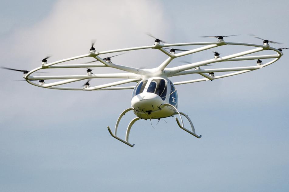 """Unter anderem gibt es bei der """"Science Week"""" in Karlsruhe einen Vortrag des Flugtaxi-Pioniers Volocopter. (Archiv)"""