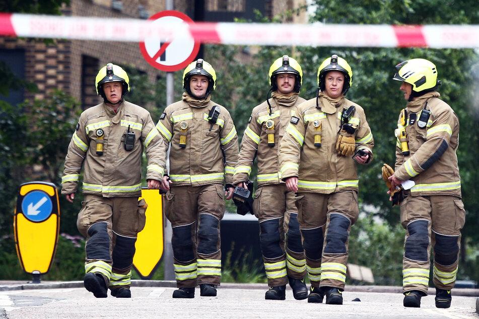 Die Feuerwehrleute hatten den Brand gegen 16.50 Uhr unter Kontrolle gebracht.