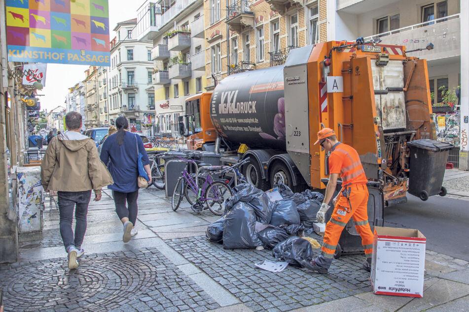 Die Müllgebühren in Dresden steigen ab Anfang 2021. Das letzte Wort hat jedoch der Stadtrat.
