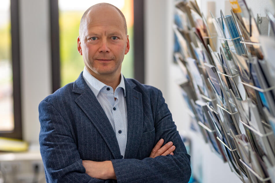 """IHK-Handelsexperte Bert Rothe (49) sagt: """"Die Krise gefährdet viele Existenzen."""""""